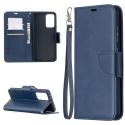 LCIMEEKE-A52BLEU - Etui Galaxy A52 LC-IMEEKE haut de gamme bleu logements carte fonction stand