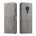 LCIMEEKE-M20GRIS - Etui Huawei Mate 20 LC-IMEEKE haut de gamme gris logements carte fonction stand