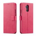LCIMEEKE-M20LITEFUSHIA - Etui Huawei Mate 20 Lite LC-IMEEKE haut de gamme fushia logements carte fonction stand