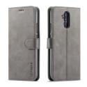 LCIMEEKE-M20LITEGRIS - Etui Huawei Mate 20 Lite LC-IMEEKE haut de gamme gris logements carte fonction stand