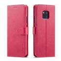 LCIMEEKE-M20PROFUSHIA - Etui Huawei Mate 20 PRO LC-IMEEKE haut de gamme fushia logements carte fonction stand