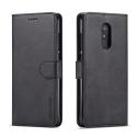 LCIMEEKE-REDMI5PLUSNOIR - Etui Xiaomi Redmi 5 PLUS LC-IMEEKE haut de gamme noir logements carte fonction stand
