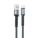 LDNIO-LS63USBC - Câble LDNIO USB renforcé noir vers prise USB-C