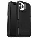 LIFE-FLIPI11 - Coque LifeProof Wake iPhone 11 Pro coloris noir avec logement cartes au dos