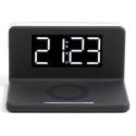 LIVOOTEA263 - Radio-réveil avec socle chargement sans fil induction Livoo TEA263