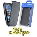 LOT-20CP574NOIR - Lot Nokia Lumia-610 20 pi�ces de CP-574 Etui aspect cuir noir