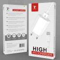 LTP-J8505-LIGHTNING - Chargeur iPhone / iPad avec câble Lightning de LTPLUS 1 mètre