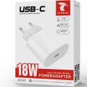 LTP-J8540 - Chargeur iPhone / iPad USB-C de LTPLUS Charge rapide PD 3A