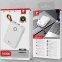 LTP-P8585BLANC - Batterie PowerBank 10.000 mAh blanche de LT-Plus