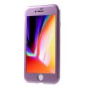 MAGNETCASE-IP7VIOLET - Coque iPhone 7/8 Protection 360° intégrale violet avec verre écran