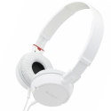 MDR-ZX100BLANC - Casque fiaire Sony MDR-ZX100 blanc