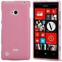MINIGELROSELUM720 - Coque Housse minigel rose glossy Lumia 720 Nokia