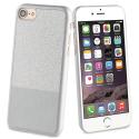 MLPAK0014 - Pack féminin Coque Strass iPhone 6/7/8 et vernis à ongles couleur gris