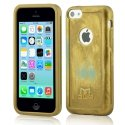 MOLS-IP5CLEOR - Coque antichoc MOLS Limited Edition coloris gold pouriPhone 5c