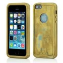 MOLS-IP5SLEOR - Coque antichoc MOLS Limited Edition coloris gold pour iPhone 5 et 5s
