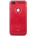 MOSHI-ARMOURIP755ED - Coque antichoc Moshi iGlaze Armour aluminium rouge pour iphone 7+/8+