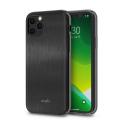 MOSHI-IGLAZIP11PRONOIR - Coque iPhone 11 PRO iGlaze de Moshi noir avec contour noir