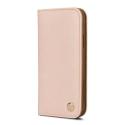 MOSHI-OVERTUREIPXROSE - Etui Moshi iPhone X Overture en cuir coloris rose
