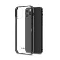 MOSHI-VITROIP11PMAXNOIR - Coque iPhone 11 PRO Max Moshi Vitros dos transparent et contour noir