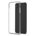 MOSHI-VITROIPXSMAXTRAN - Coque iPhone XS Max Moshi Vitros dos et contour transparent