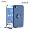 MOX-BELOOPIP7BLEU - Coque souple iPhone 7/8 Be-Loop de Moxie coloris bleu