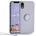 MOX-BELOOPIPXRLAV - Coque souple iPhone XR Be-Loop de Moxie coloris lavande