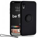 MOX-BELOOPIPXRNOIR - Coque souple iPhone XR Be-Loop de Moxie coloris noir