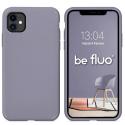 MOX-FLUOIP11LAVANDE - Coque souple Be Fluo coloris lavande pour iPhone 11