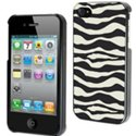MUBKC0417 - Coque Muvit collection z�bre safari pour iPhone 4S et 4