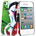 MUBKC0459 - Coque Muvit collection Art Sybile verte pour iPhone 4S et 4