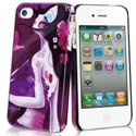 MUBKC0460 - Coque Muvit collection Art Sybile violet pour iPhone 4S et 4