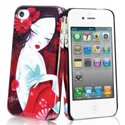 MUBKC0461 - Coque Muvit collection Art Sybile rouge pour iPhone 4S et 4
