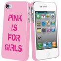 MUBKC0523 - Coque Muvit rose collection zip et text pour iPhone 4S et 4