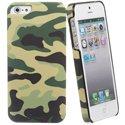 MUBKC643-IP5CAMKAKI - Coque arrière camouflage kaki pour iPhone 5