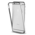 MUBUM0007-IP7GRIS - Contour bumper iPhone 7 en aluminium gris