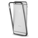 MUBUM0012-IP7NOIR - Contour bumper iPhone 7 en aluminium noir