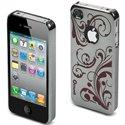 MUCCPBKIP4G008 - Coque rigide Muvit miroir fushia iPhone 4s