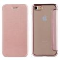 MUFLC0003-IP7ROSE - Etui iPhone 6/7/8 de Muvit Folio-Case rabat rose et dos crystal