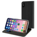 MUFLS0128-IPX - Etui iPhone X/Xs Folio-Case de Muvit rabat noir