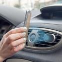 MUMAG0051-IP7PLUS - Coque iPhone 7+ magnétique avec support voiture aimanté de Muvit