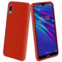 MUVIT-BABYY62019ROUGE - Coque souple Muvit Baby-Skin pour Huawei Y6(2019) rouge
