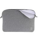 MW-410002-PRO13P - Pochette zippée MacBook Pro 13 gris - mousse protectrice