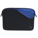 Housse MacBook Pro 15 pouces noire et bleue