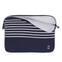 Housse MacBook Air 13 pouces bleue marinière