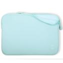 MW-410068-PRO13P - Pochette zippée MacBook Pro 13 pouces bleu clair - mousse protectrice