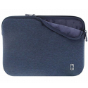 MW-410075-PRO15P - Pochette zippée MacBook Pro 15 pouces bleue - mousse protectrice