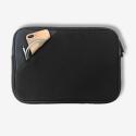 MW-410094-PRO13P - Pochette zippée MacBook Pro 13 pouces noire - mousse protectrice + poche rangement