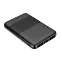 MYWAY-POWER5K - Batterie PowerBank MyWay de 5.000 mAh noire