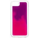 NEONIPX-ROSE - Coque avec liquide iPhone X/Xs coloris fushia et rose