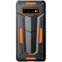 NILLKDEFEND-S10ORANGE - Coque Galaxy-S10 Nillkin Defender-2 ultra robuste coloris noir et orange